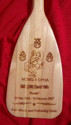 United States Navy Oar Plaques From The Nautical Realm